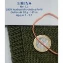 SIRENA 195 ROSAS GRISES