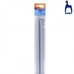 AGUJAS ALUMINIO 60 Cm RF.37910- 4,5 Mm