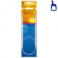 TUNISIEN CIRCULAIRES 80cm.RF46903- 2,5MM