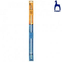 CROCHET TUNISIEN 2 TETES RF43953- 9MM