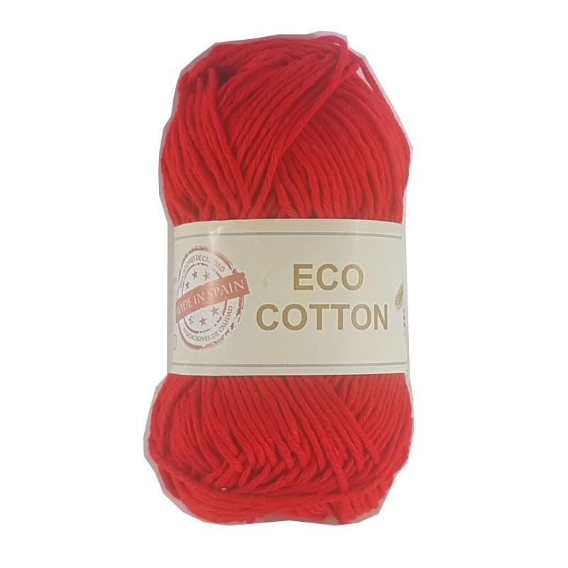 ECO COTTON 470 ROJO